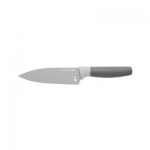 Поварской нож с отверстием для зелени серый с фиксированным лезвием BergHOFF, 14 см