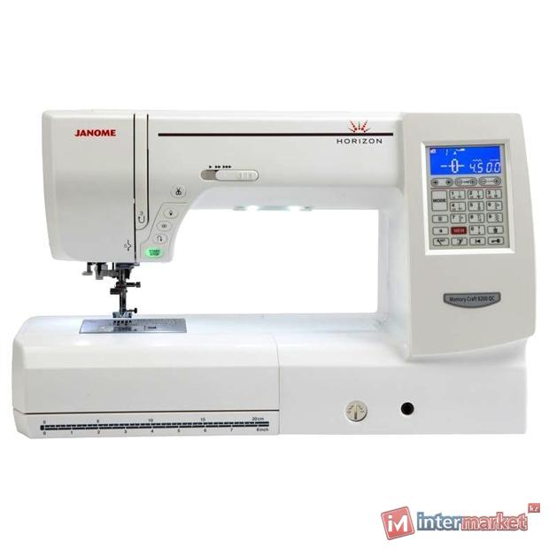Швейная машина Janome Memory Craft 8200 QC Horizon