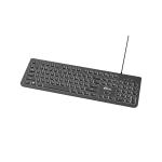Клавиатура проводная Ritmix RKB-214BL