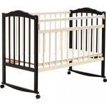 Кровать детская Bambini Классик M 01.10.09 Темный орех+Слоновая кость